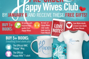 FREE Gifts When You Pre-Order Happy Wives Club!