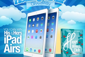 Floating on Air Giveaway:  His & Her iPad Airs!